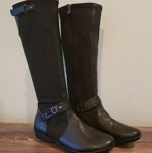 Etienne Aigner Black Womens Boots 7.5